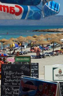Man spricht deutsch... - Strand Can Picafort