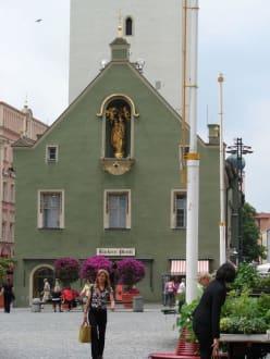 Marktplatz - Altstadt Straubing