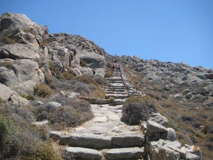Der Berg Kinthos - Insel Delos