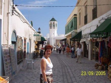 Ich in der Altstadt ( Medina ) von Mahdia - Altstadt Mahdia