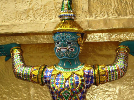 Tempelwächter II - Wat Phra Keo und Königspalast / Grand Palace