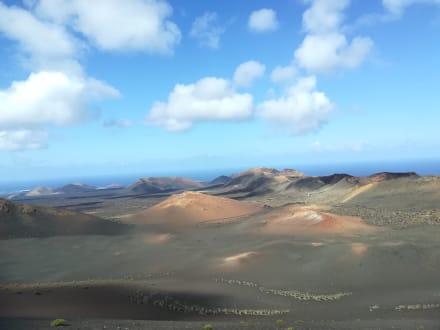Vulkanlandschaft - Nationalpark Timanfaya (Feuerberge)
