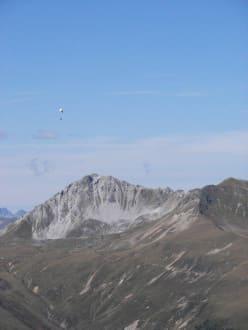 Muss man dazu noch was sagen? - Davos Joyride Paragliding