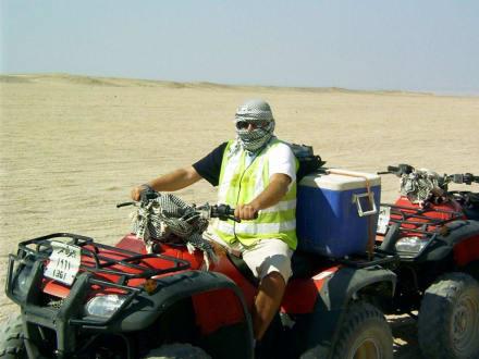Noch einer mit Quad - Quad Tour Hurghada
