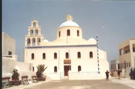 Kirche auf Santorin! - Kirche von Panagia