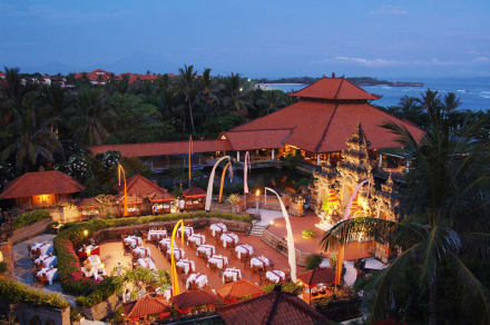 Balinese Theater at Ayodya Resort Bali -