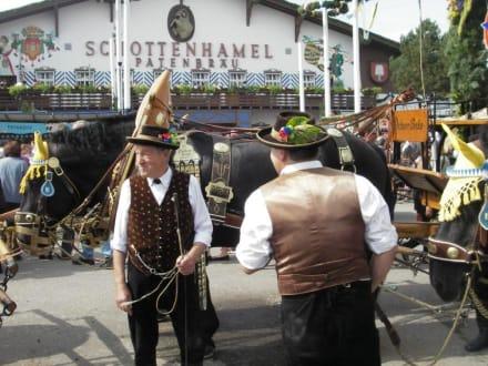 kurz vor dem Fassanstich - Oktoberfest