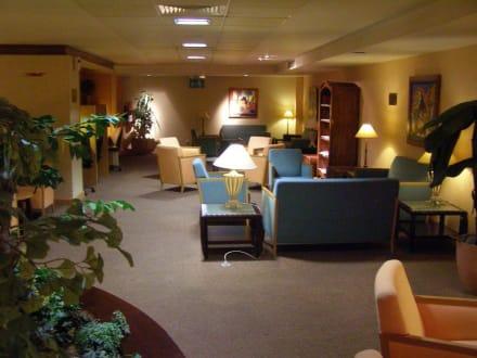 im VIP Bereich des Flughafens - Flughafen Mauritius (MRU)