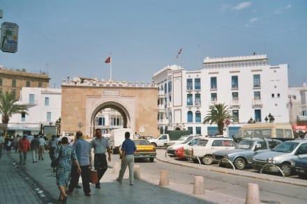 Tunis - Bab el Bahr (Meerestor) - Port de France (Bab El Bahar)