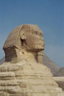 Sphinx von Gizeh - Pyramiden von Gizeh
