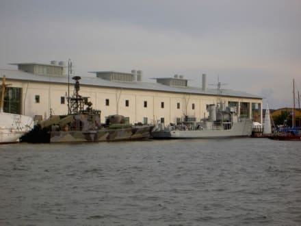 Aussenansicht des Museums - Marinemuseum