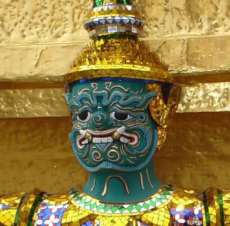 Tempelwächter - Wat Phra Keo und Königspalast / Grand Palace