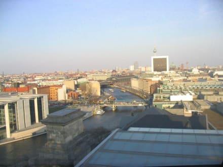 Bild von der Aussichtsplattform - Bundestag / Reichstag