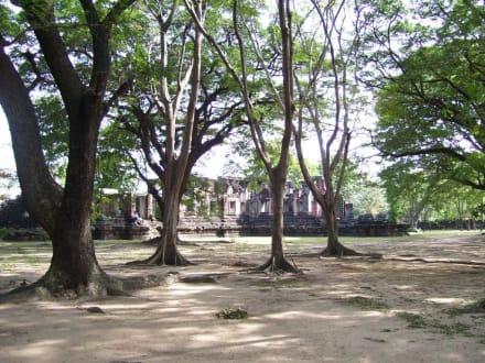 Tempelareal - Khmer Tempel
