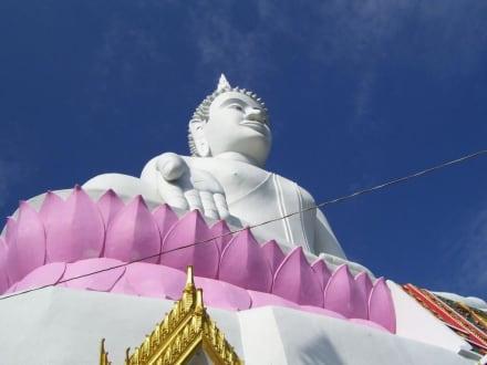 Imposanter Buddha - Weisser Buddha