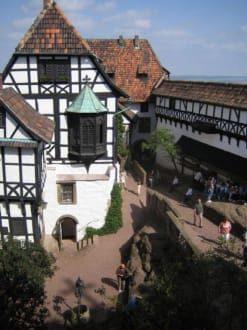 Die Vogtei und der Elisabethengang - Wartburg
