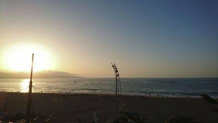 Strand Las Canteras am Abend (Mitte Oktober) - Playa de las Canteras