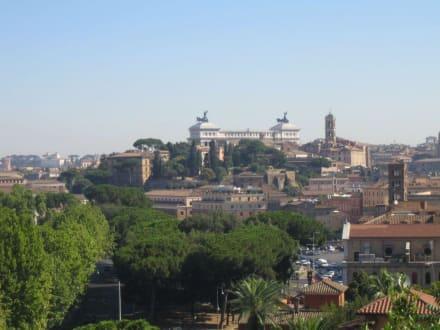 Blick über die Stadt - Aventin
