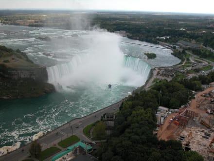 Der kanadische Wasserfall - Niagarafälle / Horseshoe Falls