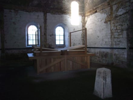 Burchardikirche: Blasebalg - Burchardi Kirchenorgel