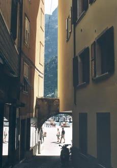 Riva, Gardasee, Italien - Altstadt Riva del Garda