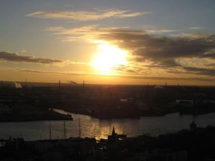 Blick vom Michel - Hafen Hamburg