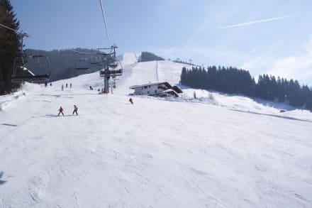 Leere Pisten - Skigebiet St. Johann