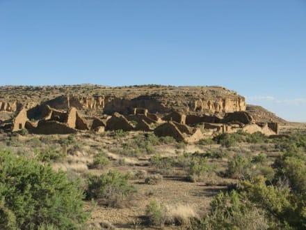 Pueblo del Arroyo im Chaco Canyon - Chaco Culture National Historical Park