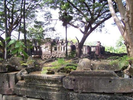 Tempelruinen - Khmer Tempel