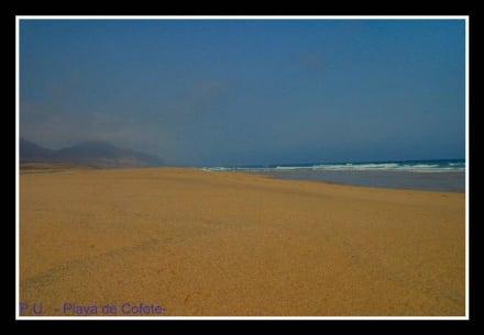 "Ausflug zum Strand ""Playa de Cofete"" - Playa de Cofete"