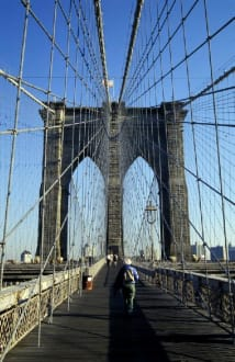 NY im November 2000 - Brooklyn Bridge