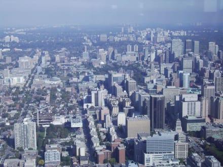 Vom CN Tower aus:Toronto - CN Tower