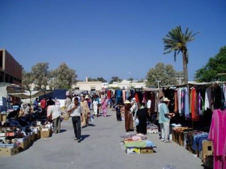 Markttag in Houmt Souk - Markt