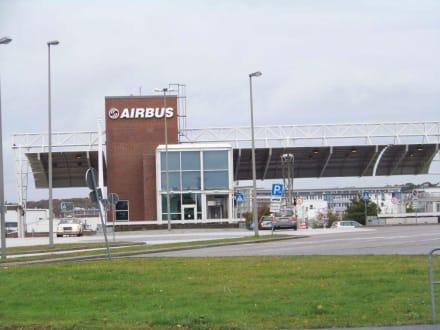Eingang - Airbus-Werk
