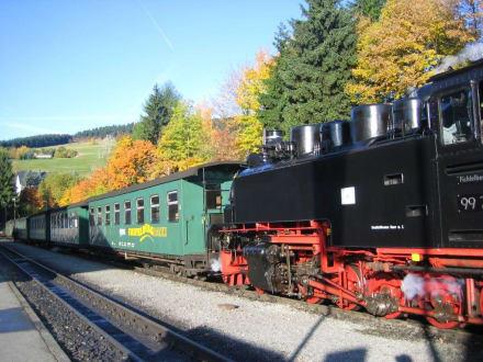 Schmalspurbahn - Fichtelberg