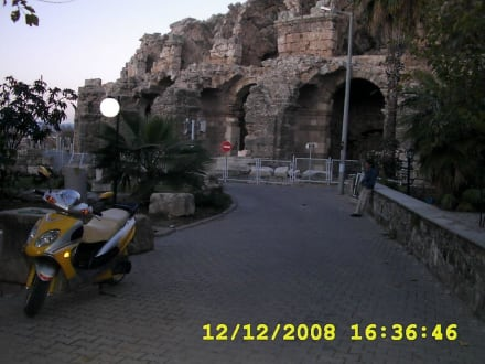 Das Theater - Amphitheater in Side