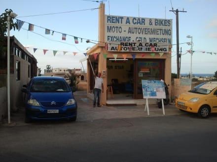 Günstige Autovermietung nebenan - Taverna Asteria