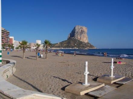 Strand in Calpe - Strand Arenal Bol