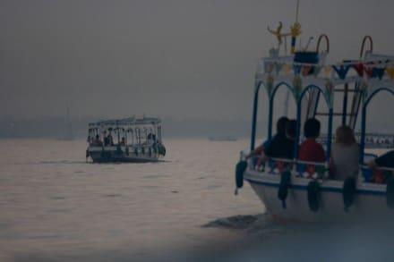 Ansichten währen der Nilfahrt - Bootstour Luxor