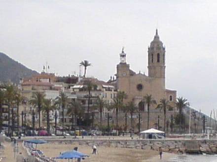 Sitges - Kirche in Sitges