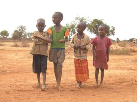 Massai-Kinder - Amboseli Nationalpark