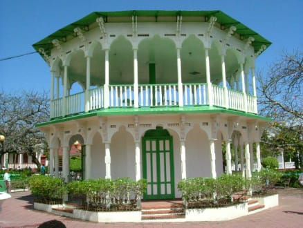 Pavillon vom Zentralpark, Puerto Plata - Parque Central