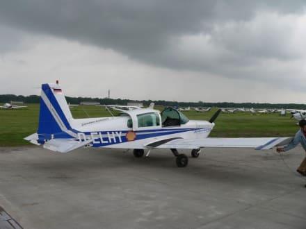 Das Kleinflugzeug - Hamburg Rundflug