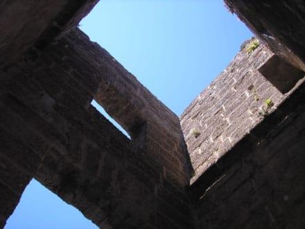 Blick aus dem südlichen Turm - Theater von Aspendos