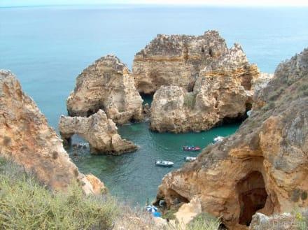 Grotten bei Ponta da Piedade - Ponta da Piedade