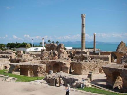 Burg/Palast/Schloss/Ruine - Ausgrabungen Karthago
