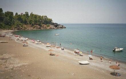 Strand von Vlachia - Strand Vlachia