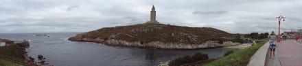 Torre de Hercules Rundblick - Herkulesturm - Torre de Hércules