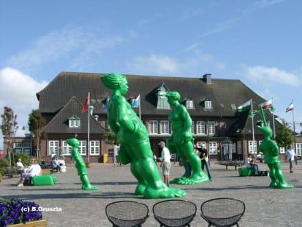 Der Bahnhof... - Bahnhof  Westerland