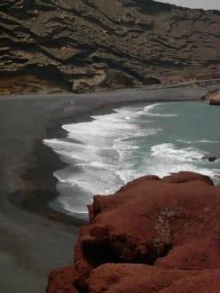 Bucht bei El Golfo - Strand El Golfo